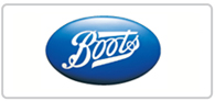 8% off at Boots Logo