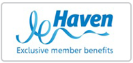 Up to 10% off at Haven Logo